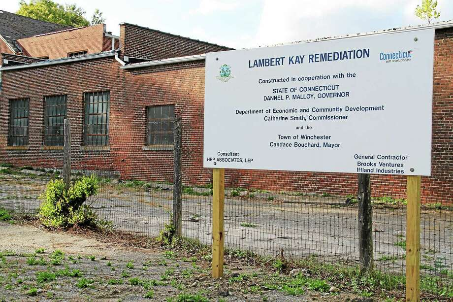 The former Lambert Kay facility has an interested buyer, Parker Benjamin Real Estate Services. The company wants to convert the 32,000-square-foot building into retail and residential space. Photo: Register Citizen File Photo