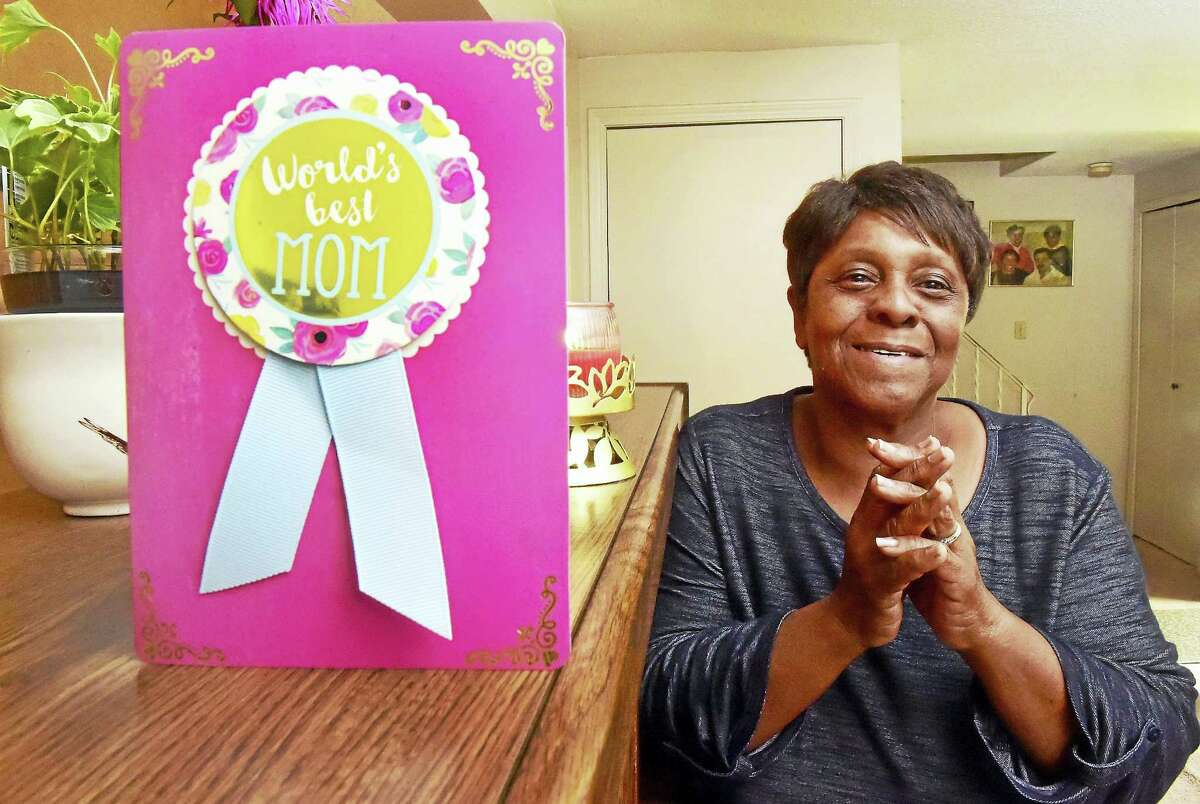 (Peter Hvizdak - New Haven Register) Junie Johnson of New Haven, a foster parent who has been trained and certified by the Children's Community Programs of CT, has taken in foster children who have a history of behavioral issues or have been diagnosed with mental disorders. Wednesday, May 24, 2017.