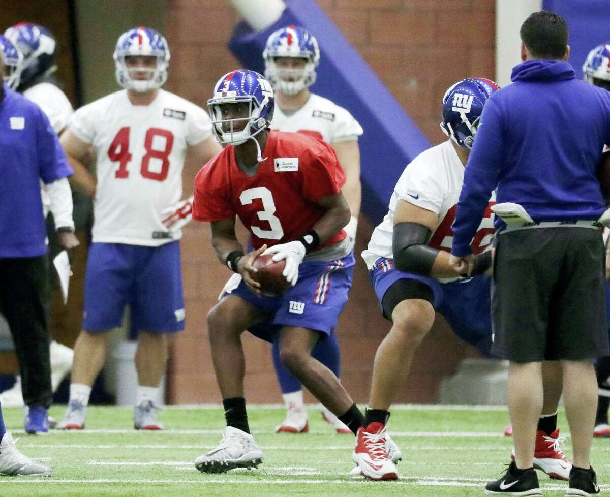 New York Giants backup quarterback Geno Smith.