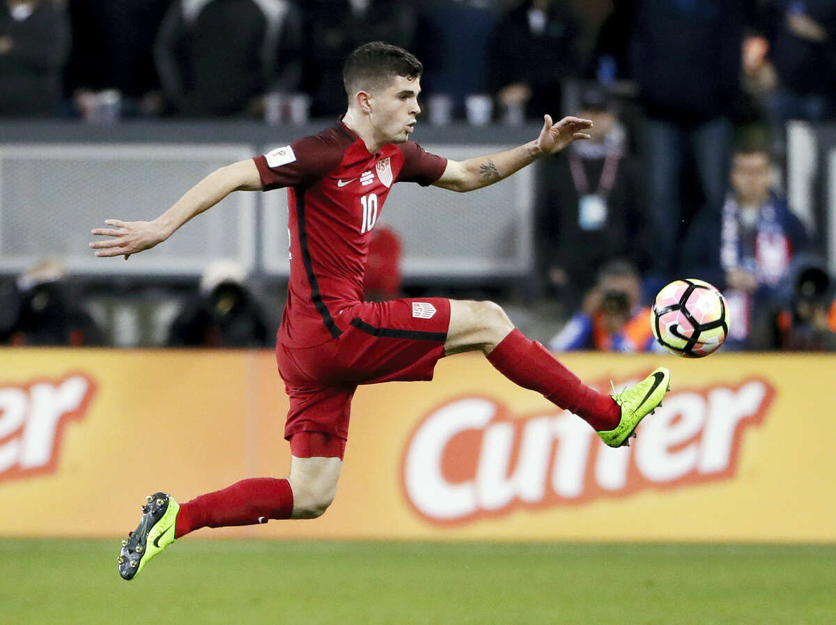 A week after becoming just the seventh American to score in the Champions League, and the youngest, Christian Pulisic got one goal and set up three others Friday in the United States' 6-0 rout of Honduras in a critical World Cup qualifier.