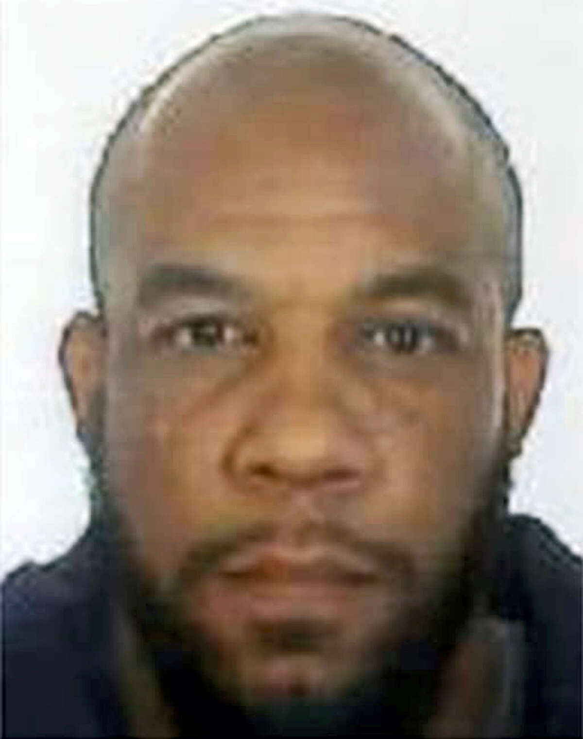 This is an undated photo released by the Metropolitan Police of Khalid Masood. Authorities identified Masood, a 52-year-old Briton as the man who mowed down pedestrians and stabbed a policeman to death outside Parliament in London, saying he had a long criminal record and once was investigated for extremism — but was not currently on a terrorism watch list.