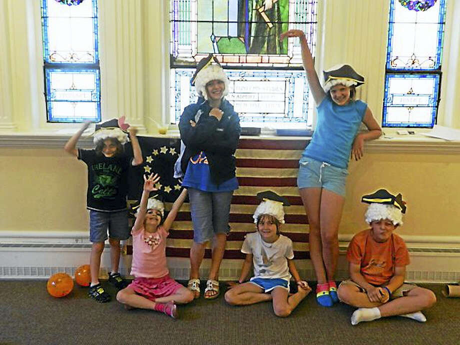 Children of all ages who enjoy learning about history are weleome to take part in the Litchfield Historical Society's summer adventures in July and August. Registration is now open. Above, a group of campers show their costumes from a session in 2016. Photo: Contributed Photo