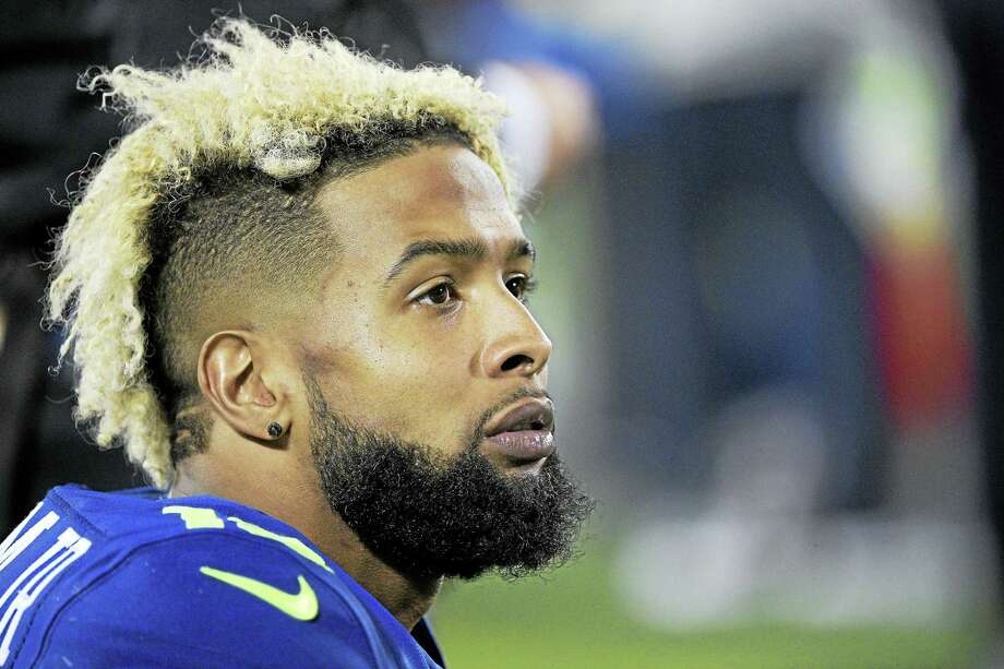 Giants wide receiver Odell Beckham Jr. Photo: The Associated Press File Photo  / FR121174 AP