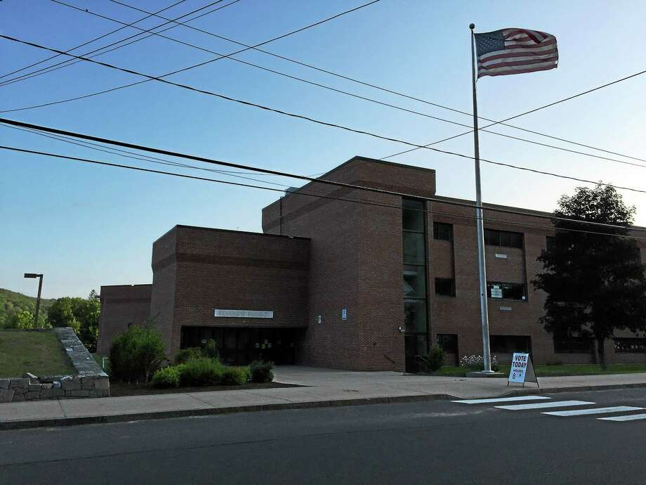 A school budget hearing will be held Monday at Pearson Middle School in Winsted. Photo: Register Citizen File Photo