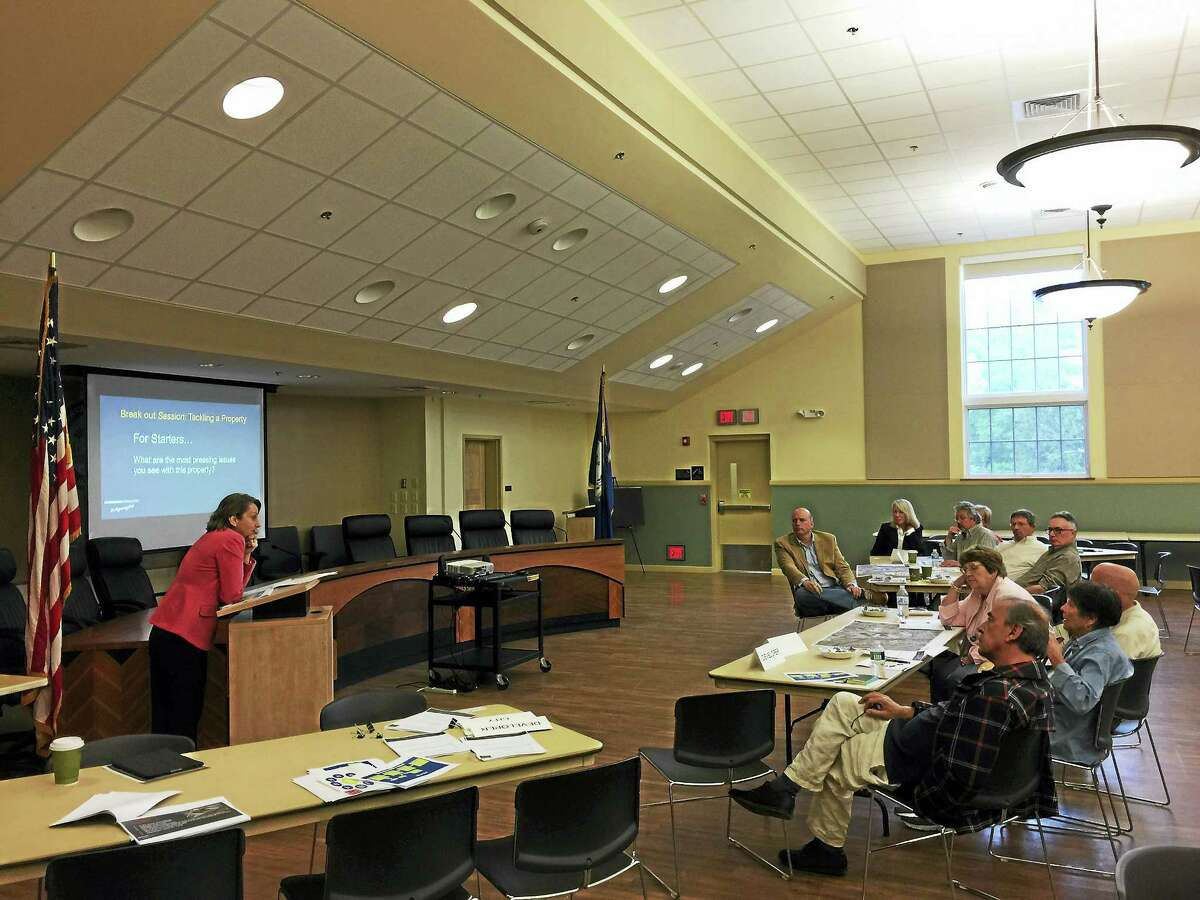 Residents and officials brainstormed ideas for redeveloping the city's brownfield sites during a meeting this week in Torrington.