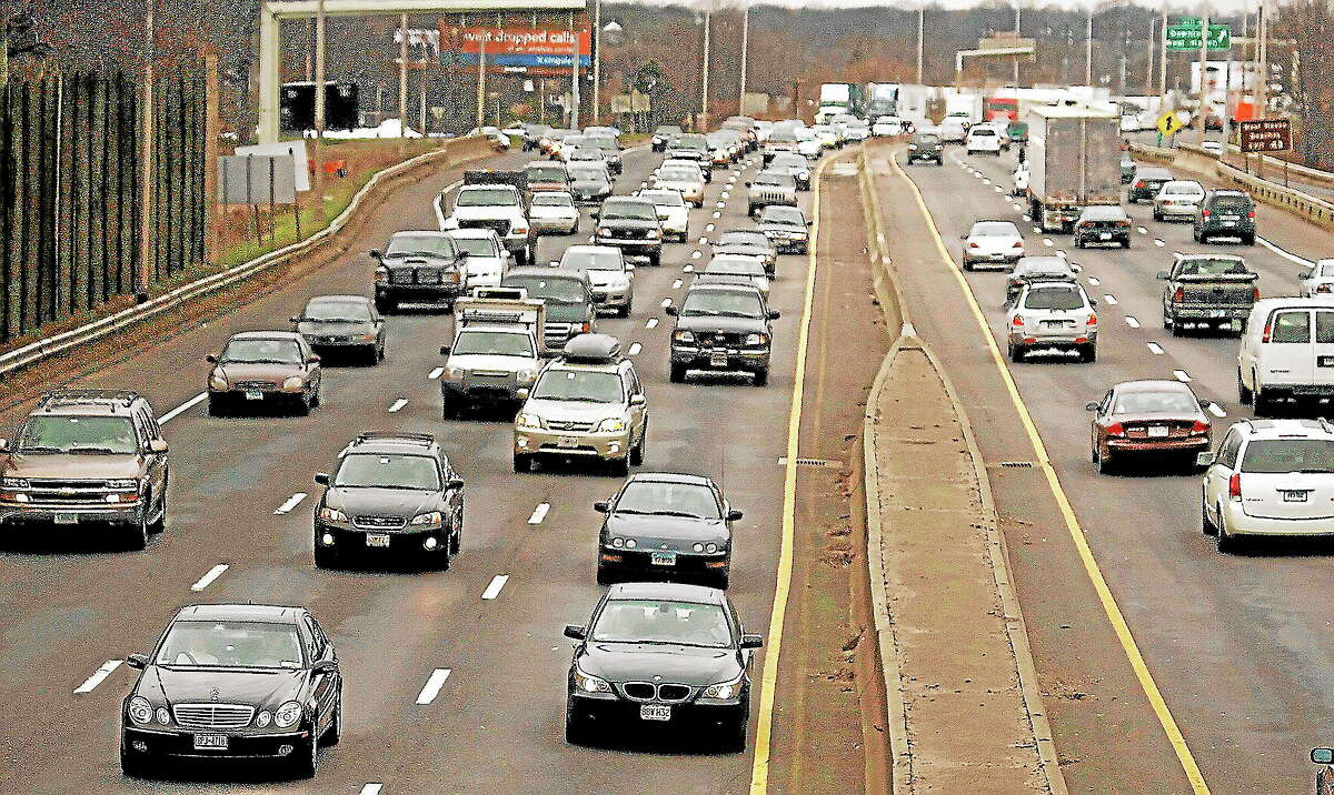 File photo of Interstate 95 in New Haven, Conn., Friday, Dec. 22, 2006.