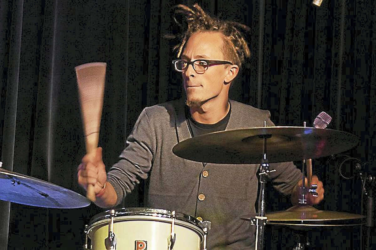 Jazz drummer Philippe Lemm performs March 31 with his trio at the Poli Club in Waterbury.