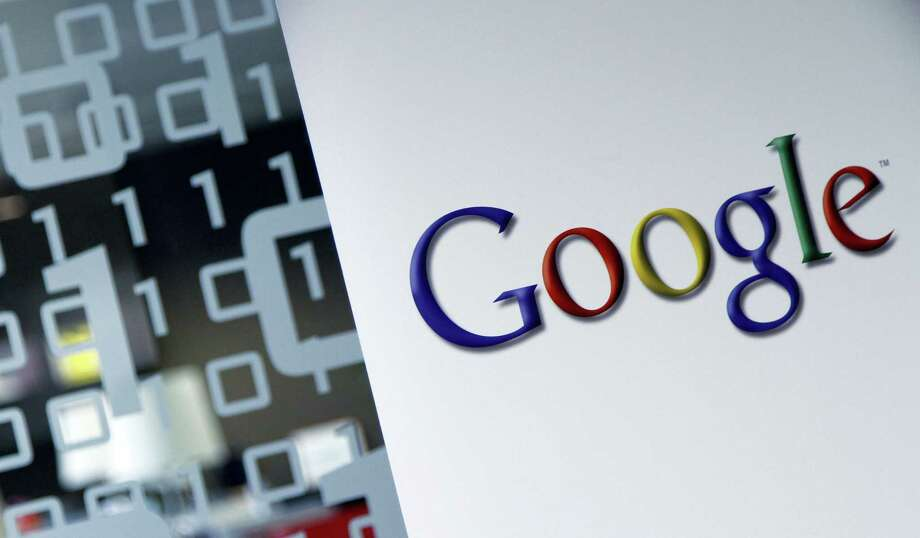 """This March 23, 2010 photo, shows the Google logo at the Google headquarters in Brussels. Google is now letting its human """"quality raters"""" flag content that is """"upsetting"""" or """"offensive"""" in search results. Photo: AP Photo — Virginia Mayo, File  / Copyright 2016 The Associated Press. All rights reserved. This material may not be published, broadcast, rewritten or redistribu"""