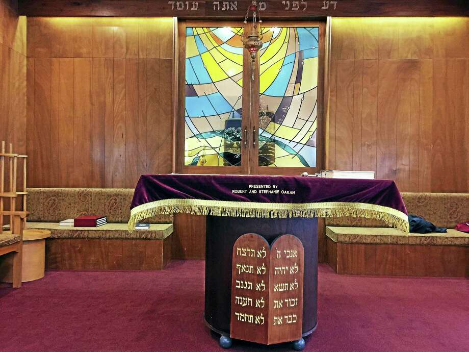 Beth El Synagogue in Torrington, founded in the early 1900s, will close at the end of the year. Members say a drop in membership and an aging congregation are some of the reasons for their decision. Photo: Ben Lambert — The Register Citizen