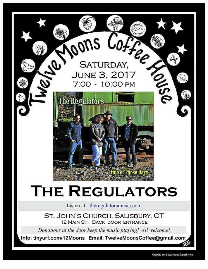 The Regulators will perform at 12 Moons Coffee House on Saturday, June 3. Photo: Contributed Photo