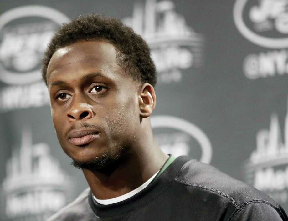 Quarterback Geno Smith is eager to learn from current Giants quarterback Eli Manning. Photo: Frank Franklin II — The Associated Press File  / Copyright 2017 The Associated Press. All rights reserved.