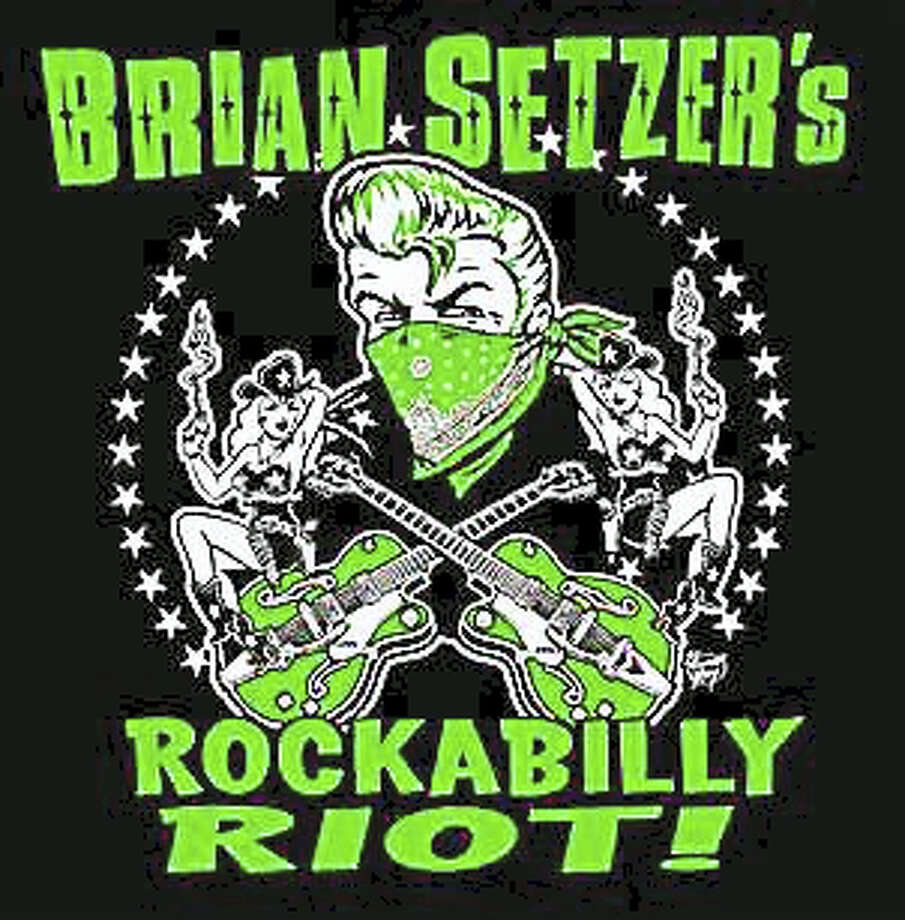 Brian Setzer brings his rockabilly show to Danbury in June. Photo: Contributed Photo