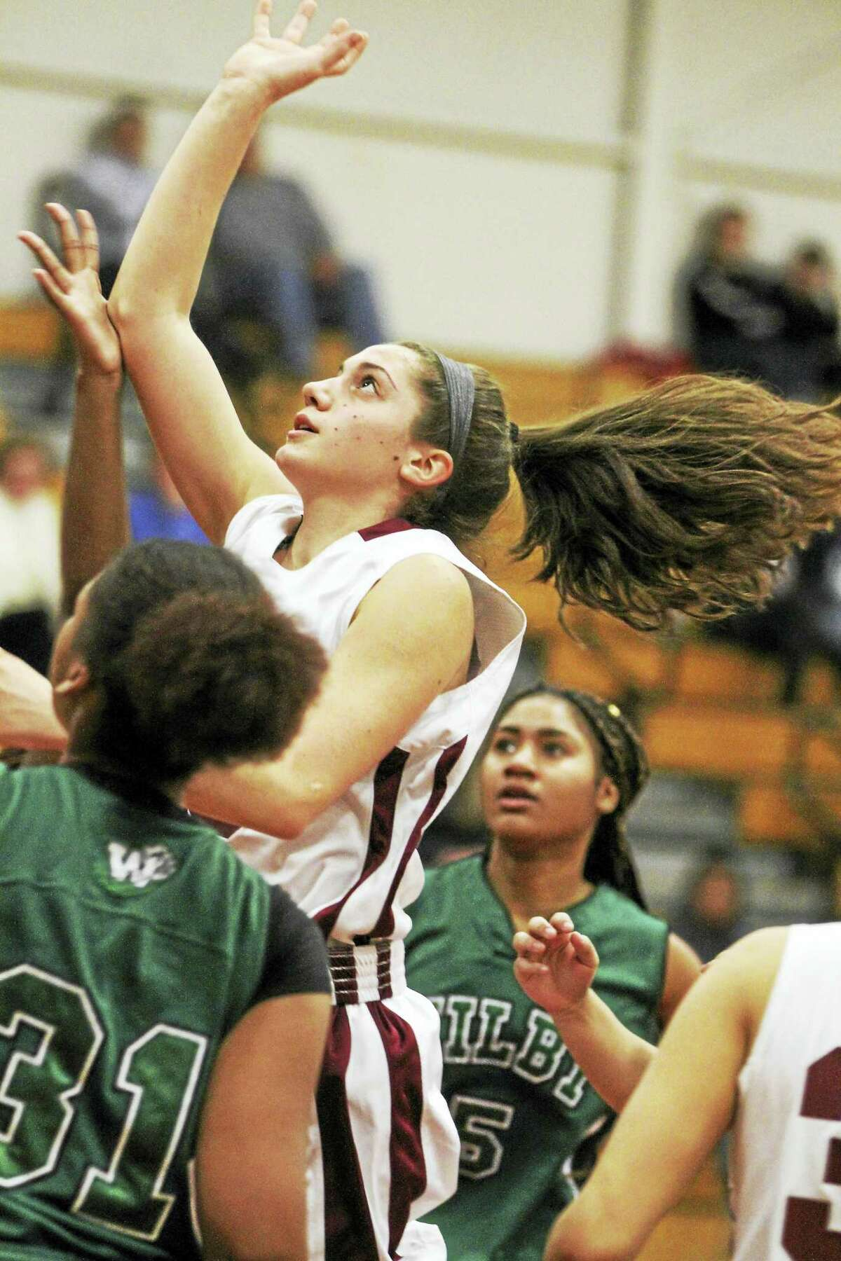 """All-State guard/forward Brie Pergola says coach Mike Fritch """"tells me I have to make choices for myself."""""""
