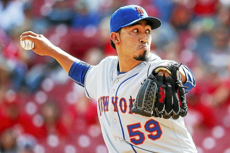 Mets relief pitcher Fernando Salas. Photo: The Associated Press File Phto  / AP
