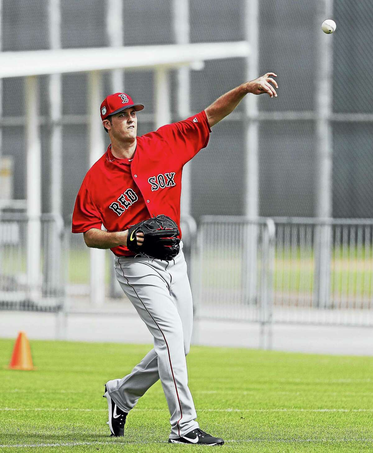 Red Sox pitcher Drew Pomeranz.