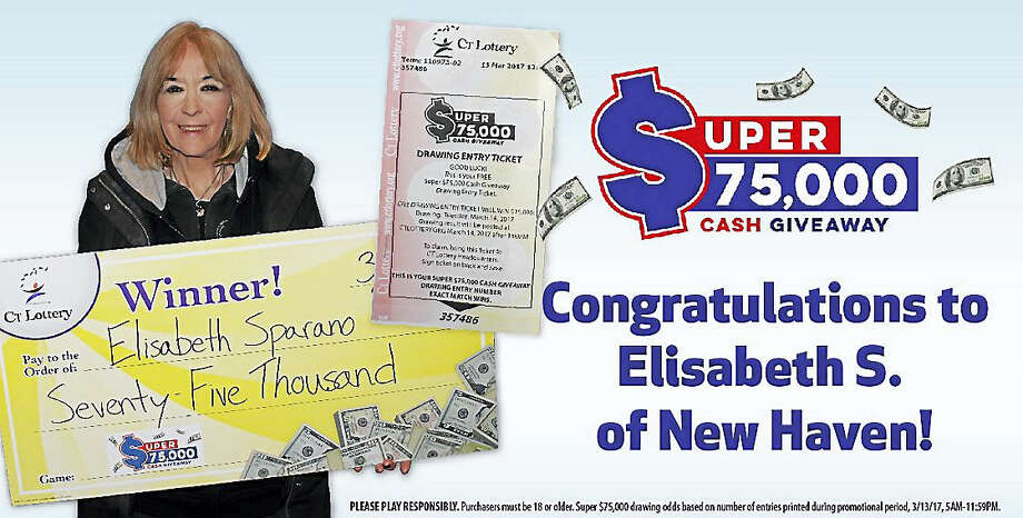 Elisabeth Sparano Photo: Courtesy Of CT Lottery