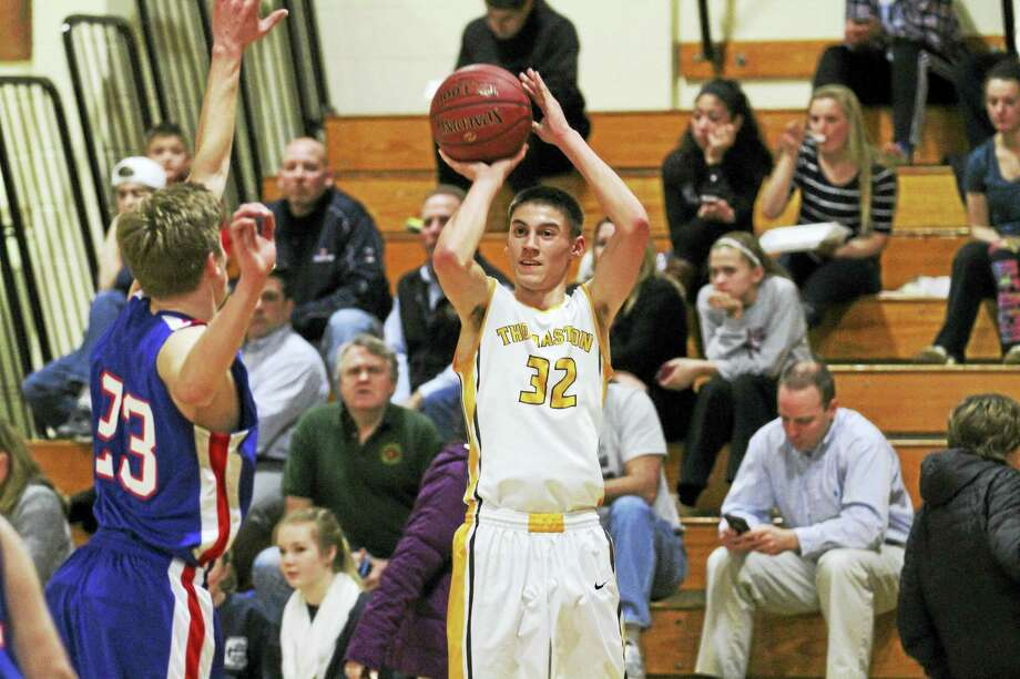 Guard Jared Kahn is one of the keys to Thomaston's potential for a second-half Berkshire League run. Photo: Photo By Marianne Killackey  / 2015
