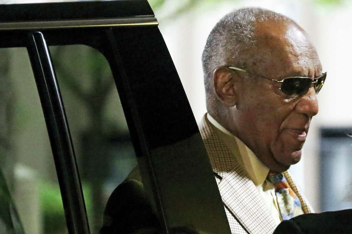 Bill Cosby arrives for jury selection in his sexual assault case at the Allegheny County Courthouse om May 22, 2017, in Pittsburgh. The case is set for trial June 5 in suburban Philadelphia.