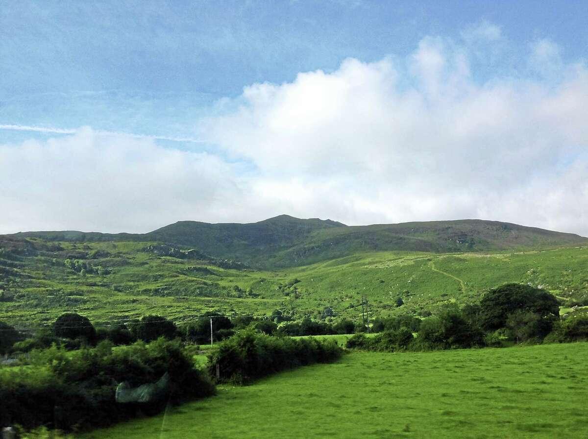 A landscape in Ireland
