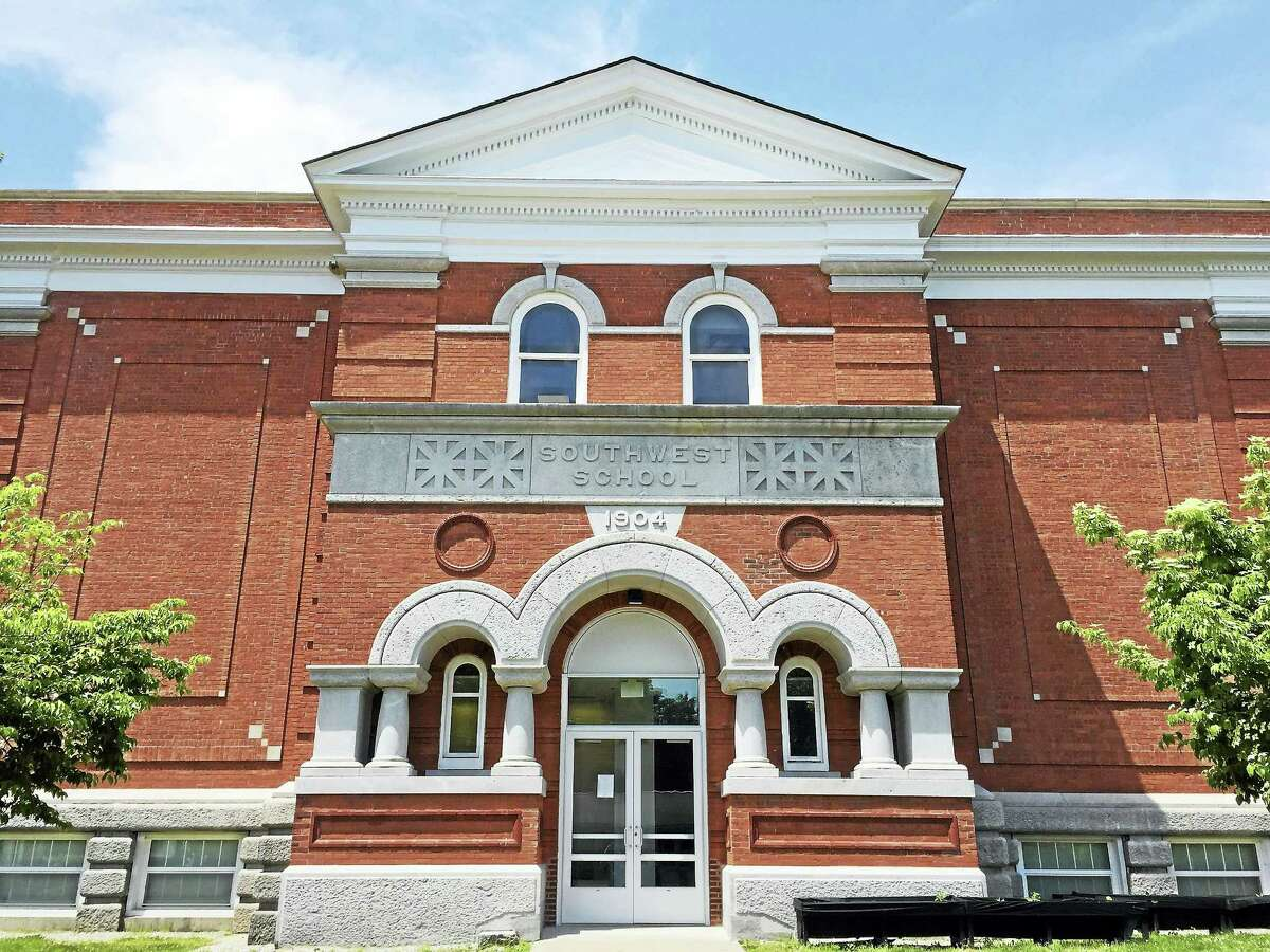 Ben Lambert - The Register Citizen Southwest School, which the Torrington Board of Education voted against closing for the upcoming school year Wednesday.