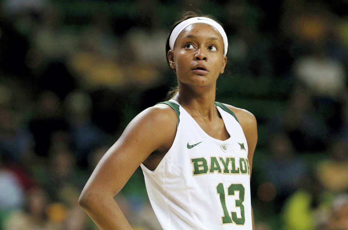 In this Nov. 22, 2016 photo, Baylor's Nina Davis watches free throws during an NCAA college basketball game against Southeastern Louisiana in Waco, Texas. Davis is a two-time AP All-American who has been to the Elite Eight three times while setting plenty of Baylor and Big 12 records. But her standout career will feel incomplete without a Final Four trip or national title. This is the senior's last chance.