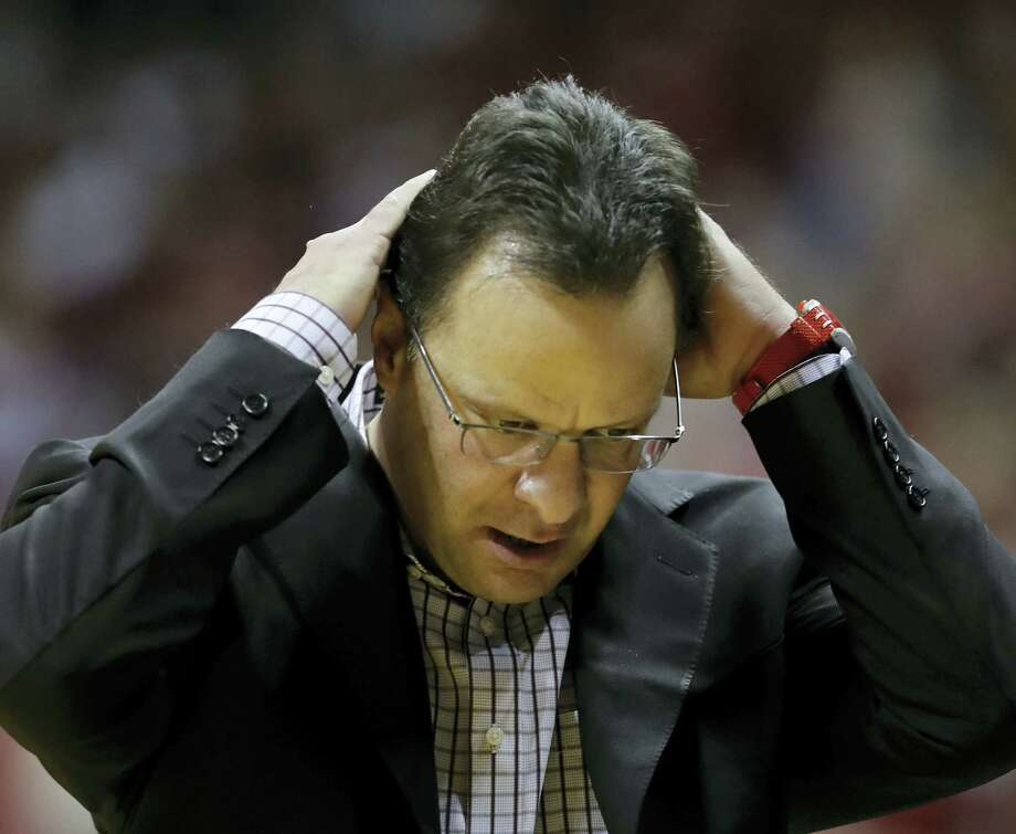 Indiana announced Thursday that it has fired head coach Tom Crean. Photo: The Associated Press File Photo  / Copyright 2017 The Associated Press. All rights reserved.