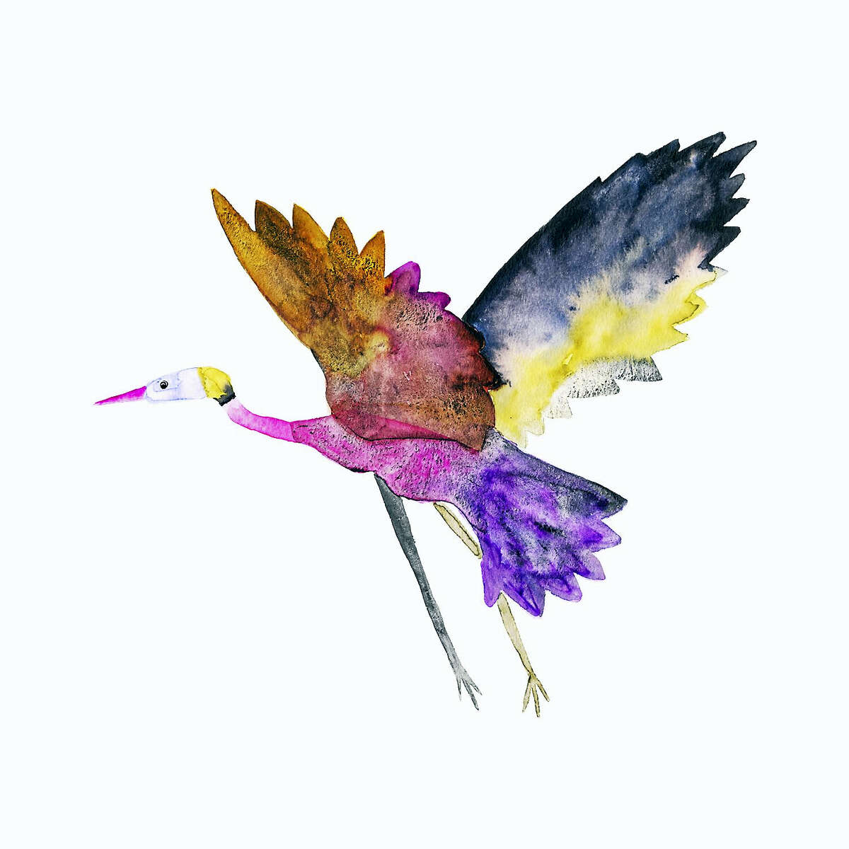 Heron, by Sarah Martinez.