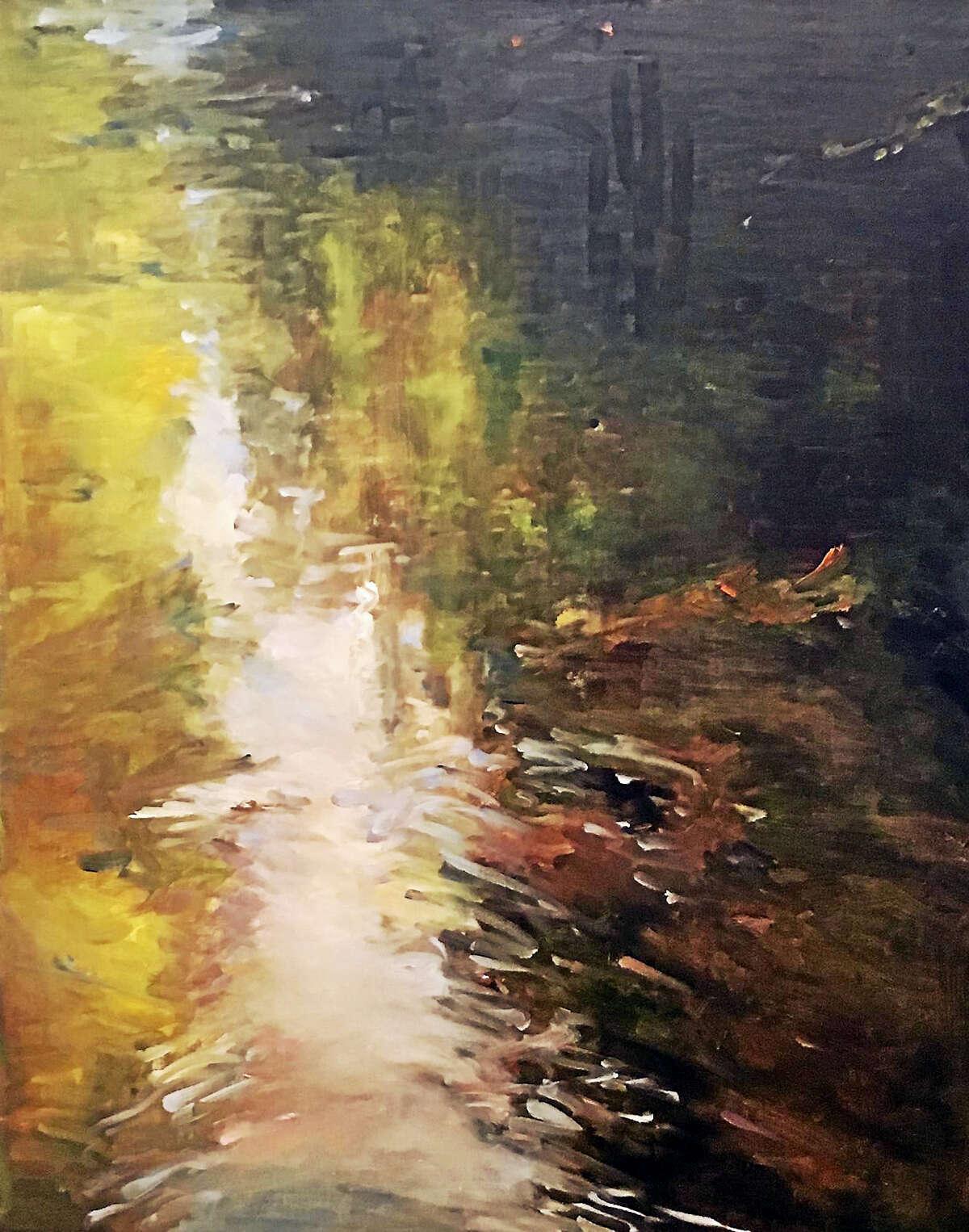 River Flow, Maryellen Furse, oil on canvas, 24 x 30 in.
