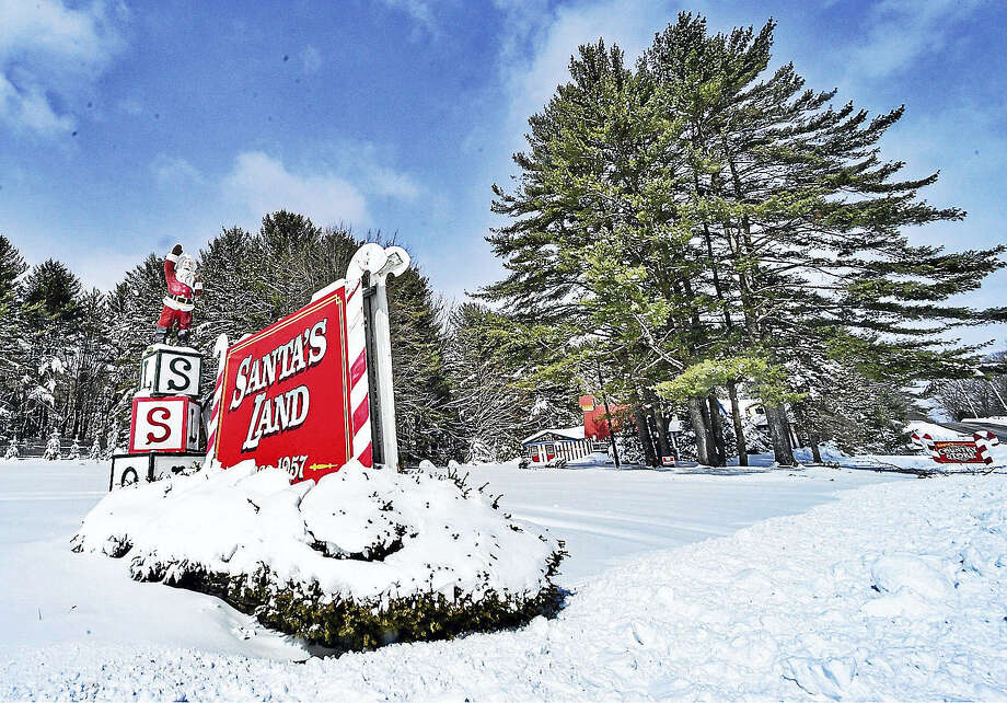 A Connecticut man is looking to reopen Santa's Land in Putney, Vermont, this summer. Photo: Kristopher Radder — Brattleboro Reformer