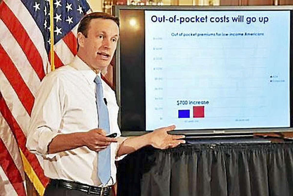 U.S. Sen. Chris Murphy, D-Conn