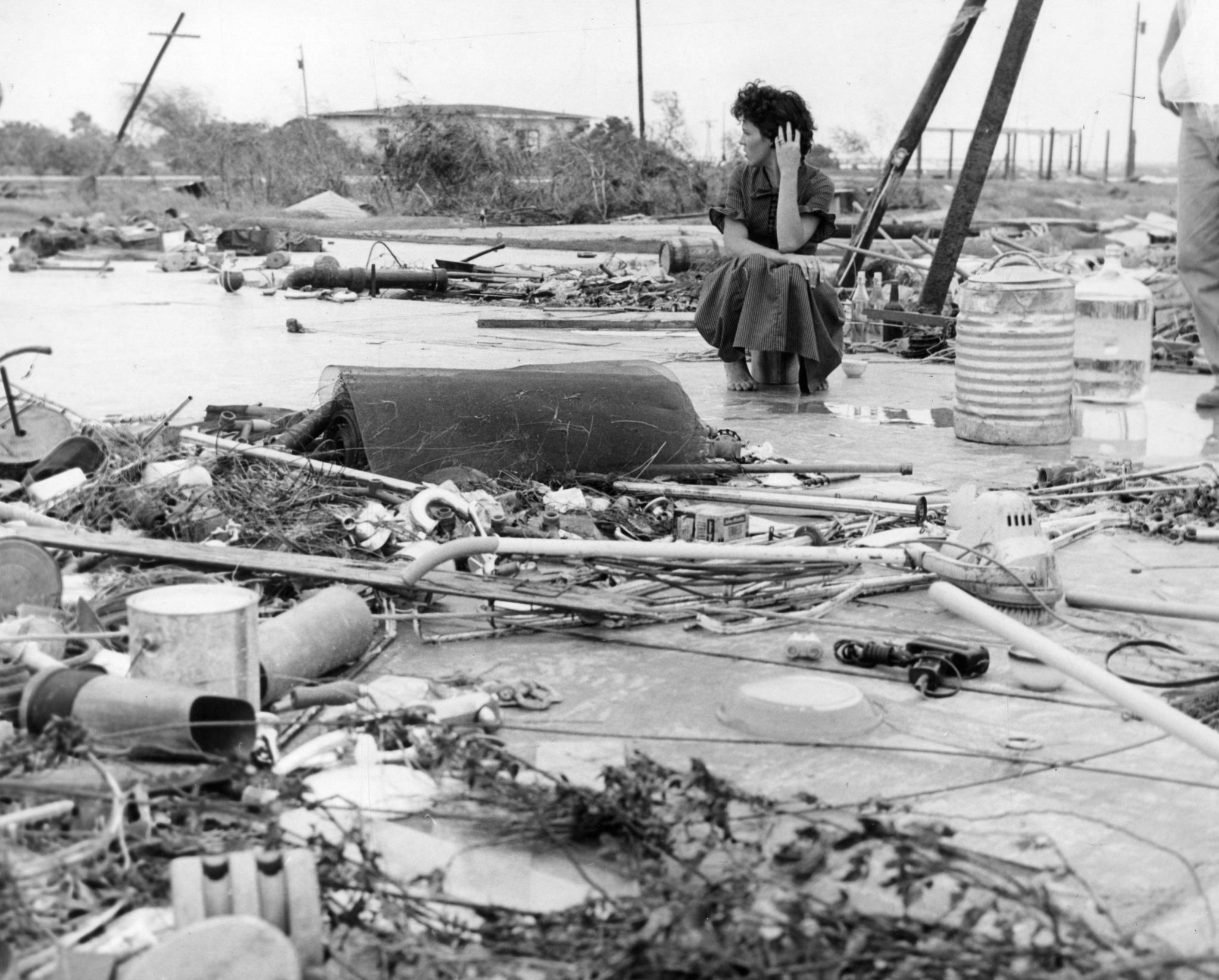 What the last Category 4 hurricane to hit Texas looked like - Houston Chronicle
