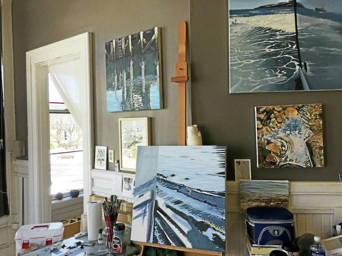 As part of the Launchpad program, studio space has been opened up for graduates of the Hartford Art School above the Five Points Gallery in downtown Torrington.