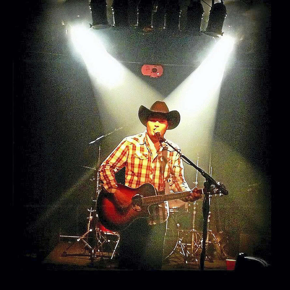 Contributed photo Cody Wolfe, a native of Torrington, is pursuing a country music singing career in Nashville, Tennessee, working with a manager and writing his own songs. He recently signed with a record label to record a new album.