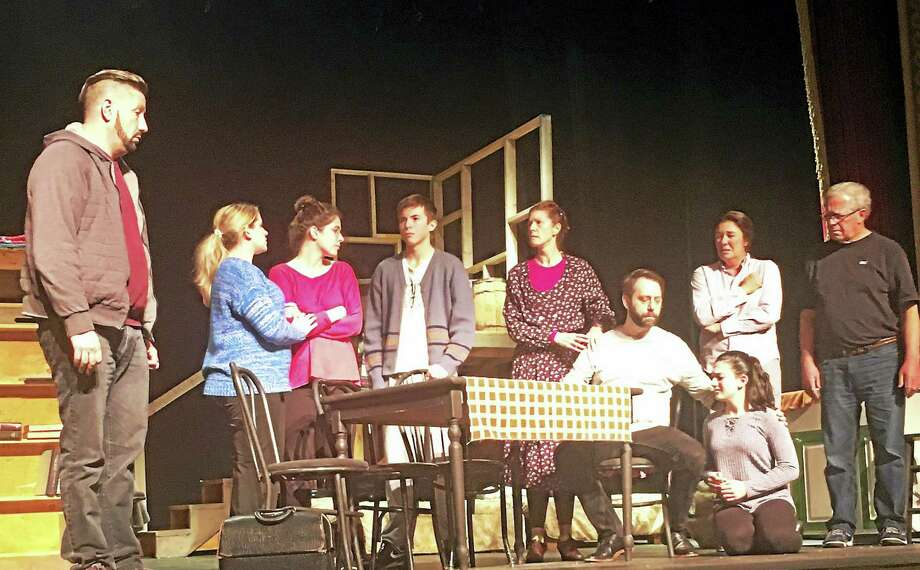 "The cast of ""The Diary of Anne Frank"", which opens this weekend at the Thomaston Opera House. Photo: Photos Courtesy Of Landmark Community Theatre"
