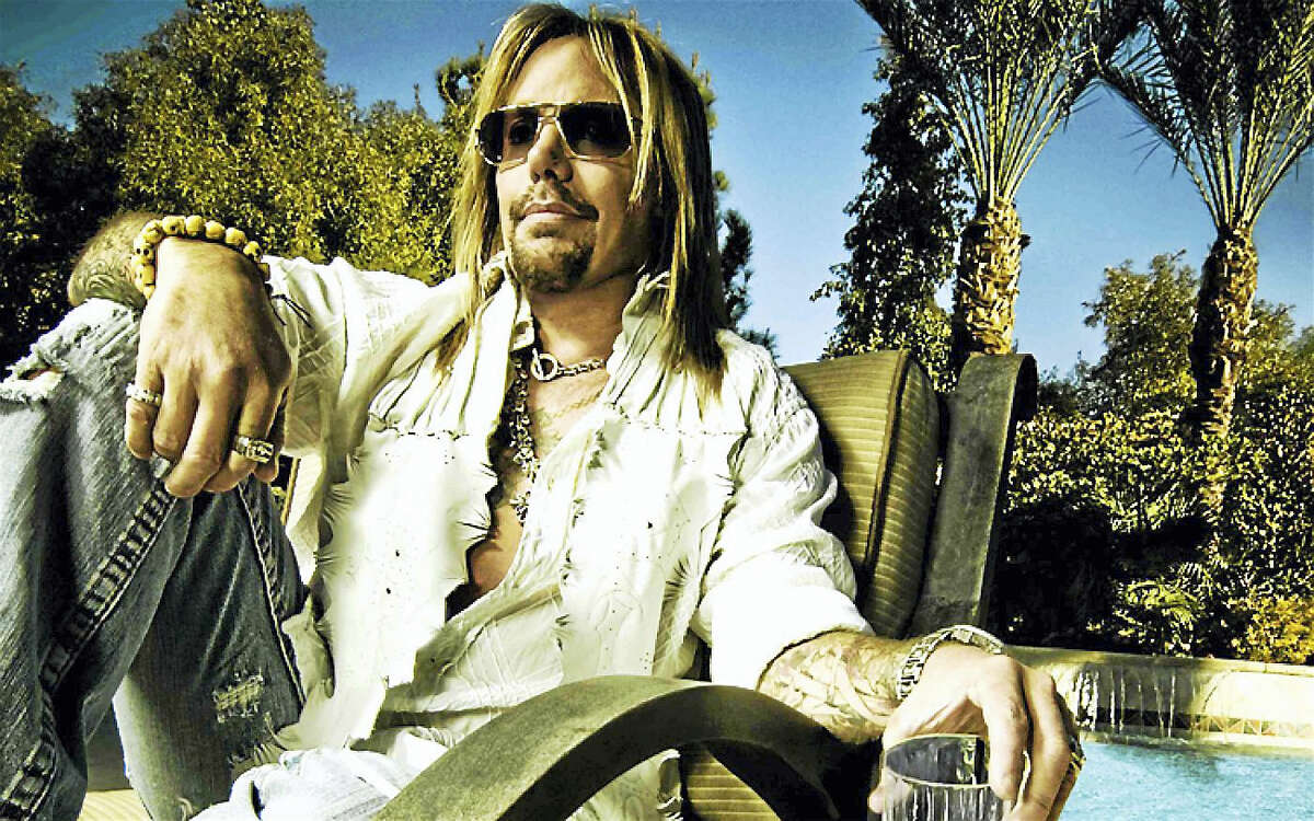 Contributed photo Vince Neil is playing a free concert Saturday night at the Wolf Den at Mohegan Sun.