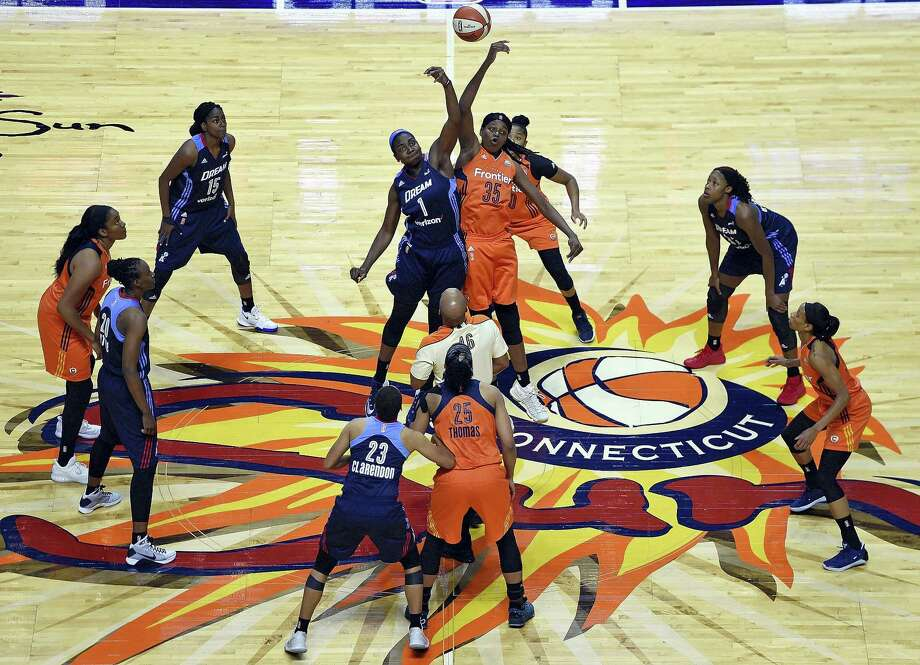 The Connecticut Sun announced on Thursday that 15 games during the regular season will be televised on CSN New England. Photo: Sean D. Elliot — The Day Via AP  / 2017 The Day Publishing Company