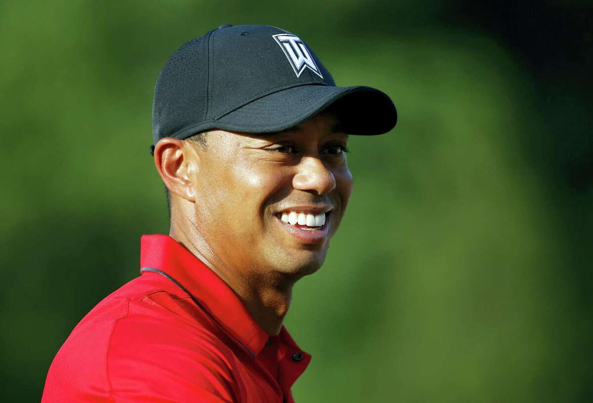 Tiger Woods is impressed with Donald Trump's abilities on the golf course.