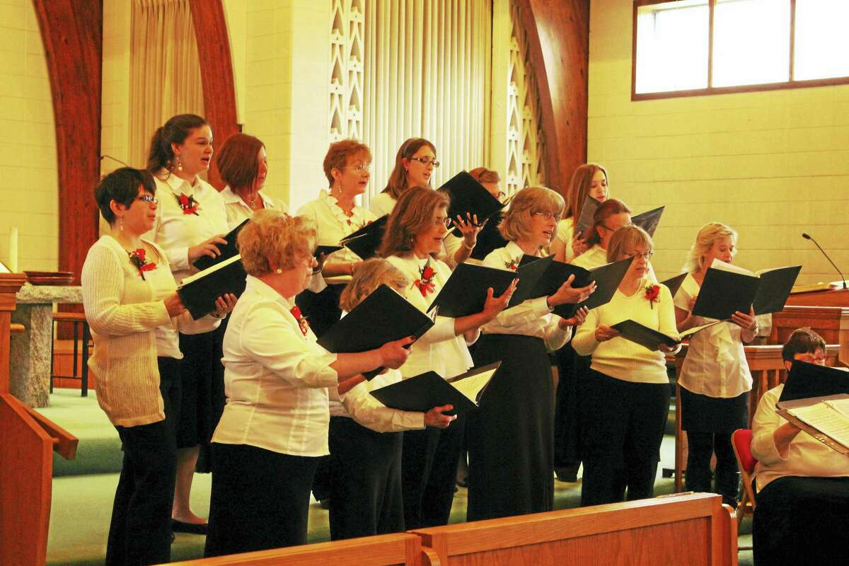 The Connecticut Yankee Chorale, shown performing The Mikado during a previous show, will present a concert at Center Congregational Church on Sunday, May 21.