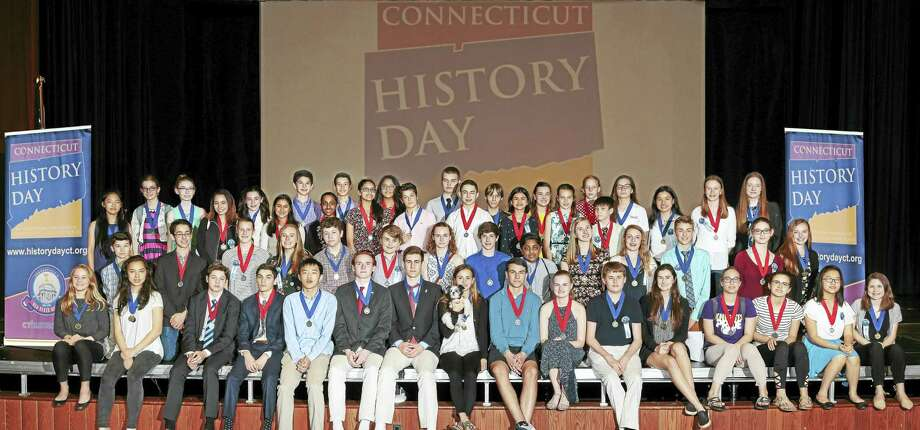 Torrington students excelled at this year's Connecticut History Day contest. Photo: Contributed Photo