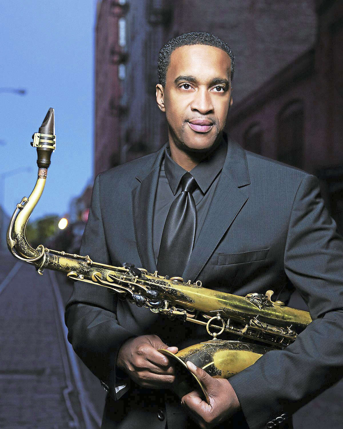 Contributed photoSaxophonist Javon Jackson joins the HSO for its February concerts in Hartford.