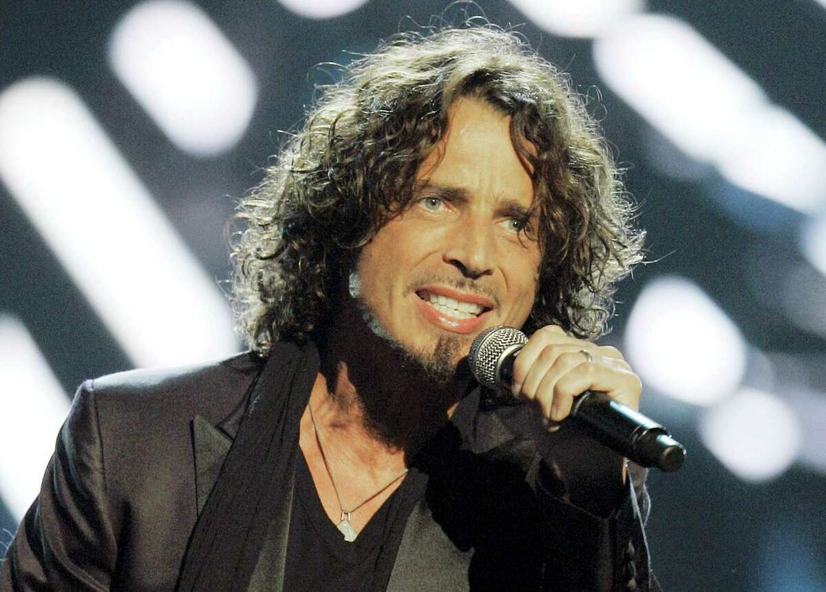 In this Sept. 5, 2008 photo, musician Chris Cornell performs on stage during Conde Nast's Fashion Rocks show in New York. According to his representative, rocker Chris Cornell, who gained fame as the lead singer of Soundgarden and later Audioslave, has died Wednesday night in Detroit at age 52.