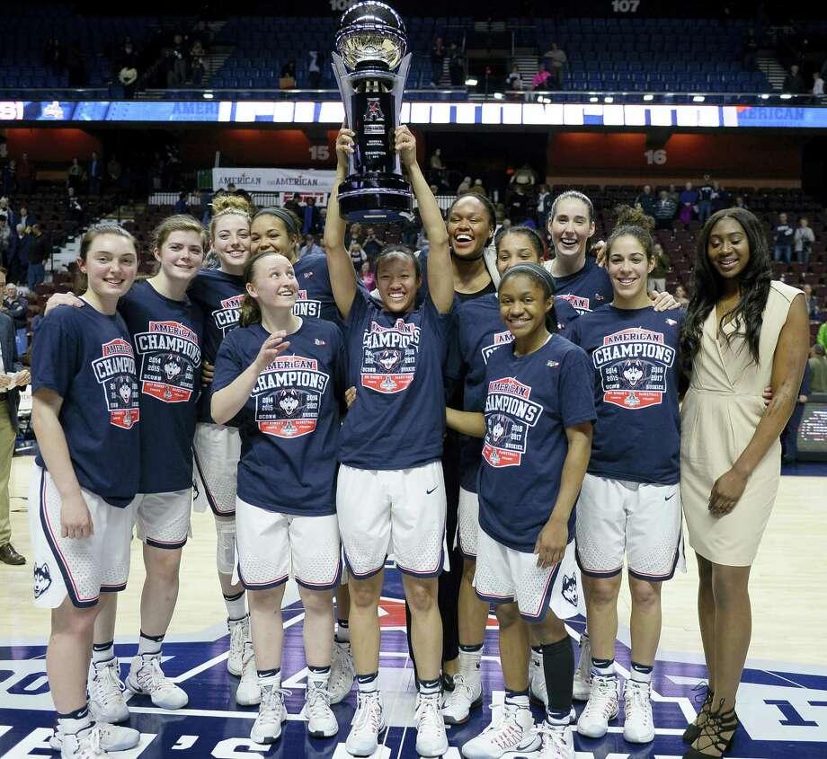 The UConn women's basketball team is the top overall seed for the NCAA Tournament and will begin their quest for a fifth straight national title against Albany. Photo: The Associated Press File Photo  / AP2017