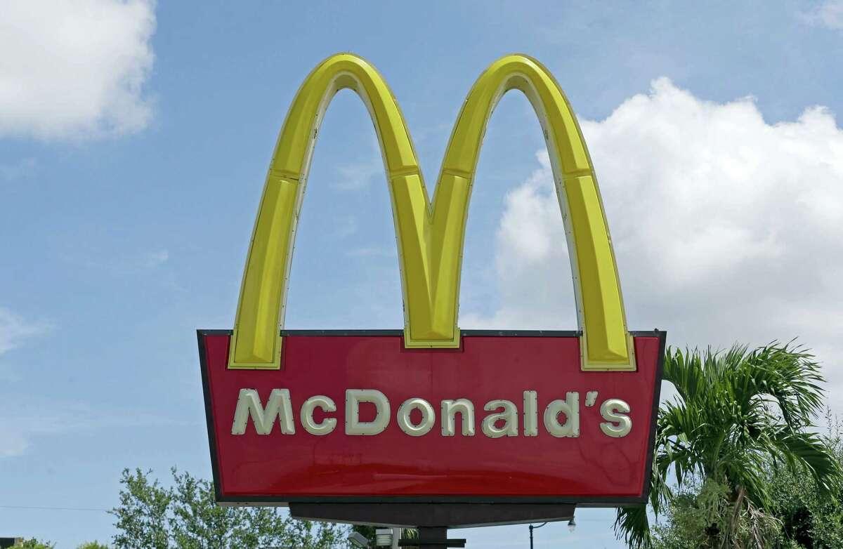 A McDonald's restaurant in Miami.