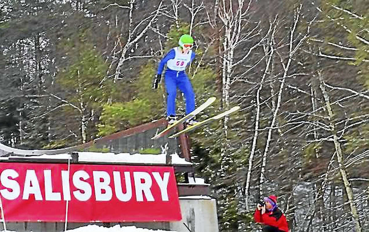 FILE PHOTOS - THE REGISTER CITIZEN Jumpers compete at the annual Jumpfest in Salisbury in 2014.