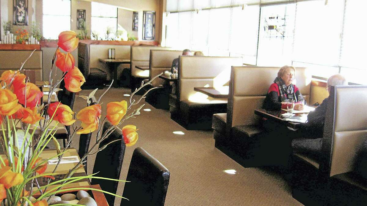Lemongrass Asian Grill offers a relaxed, colorful atmosphere for diners.
