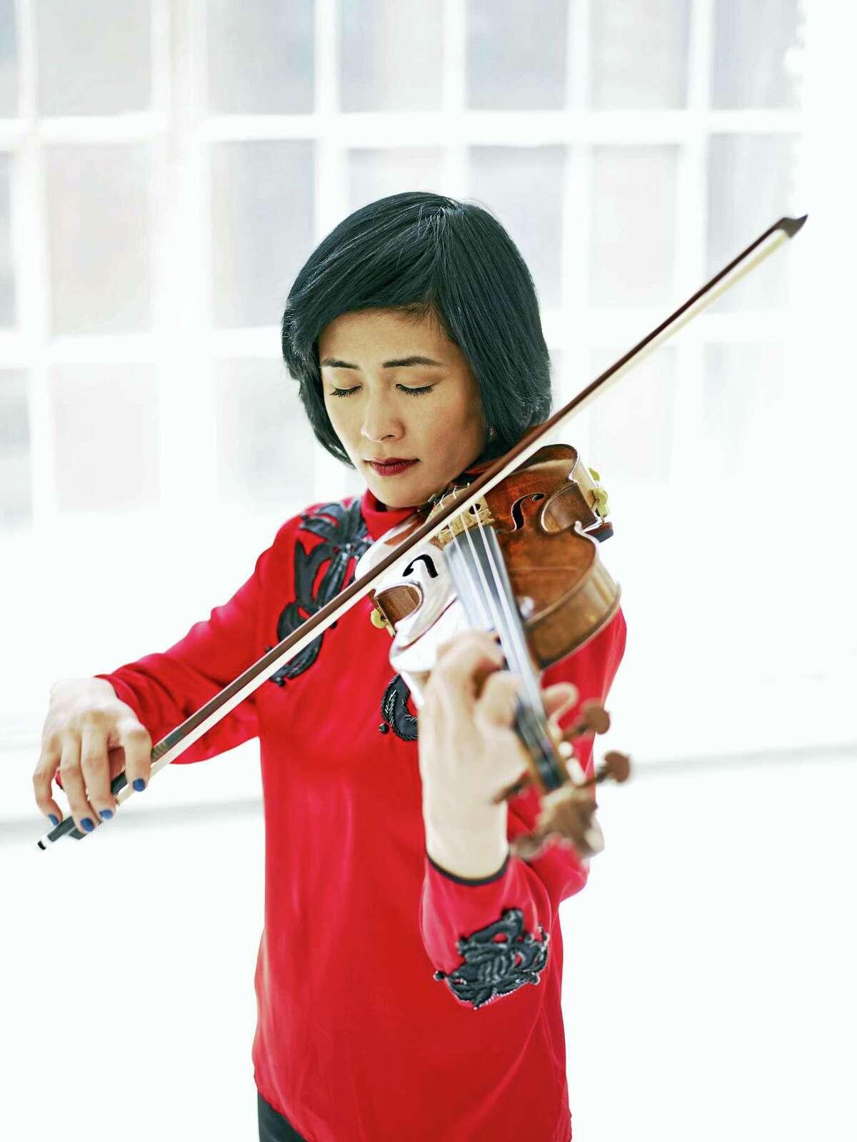 Violinist Jennifer Koh, photographed in New York City.