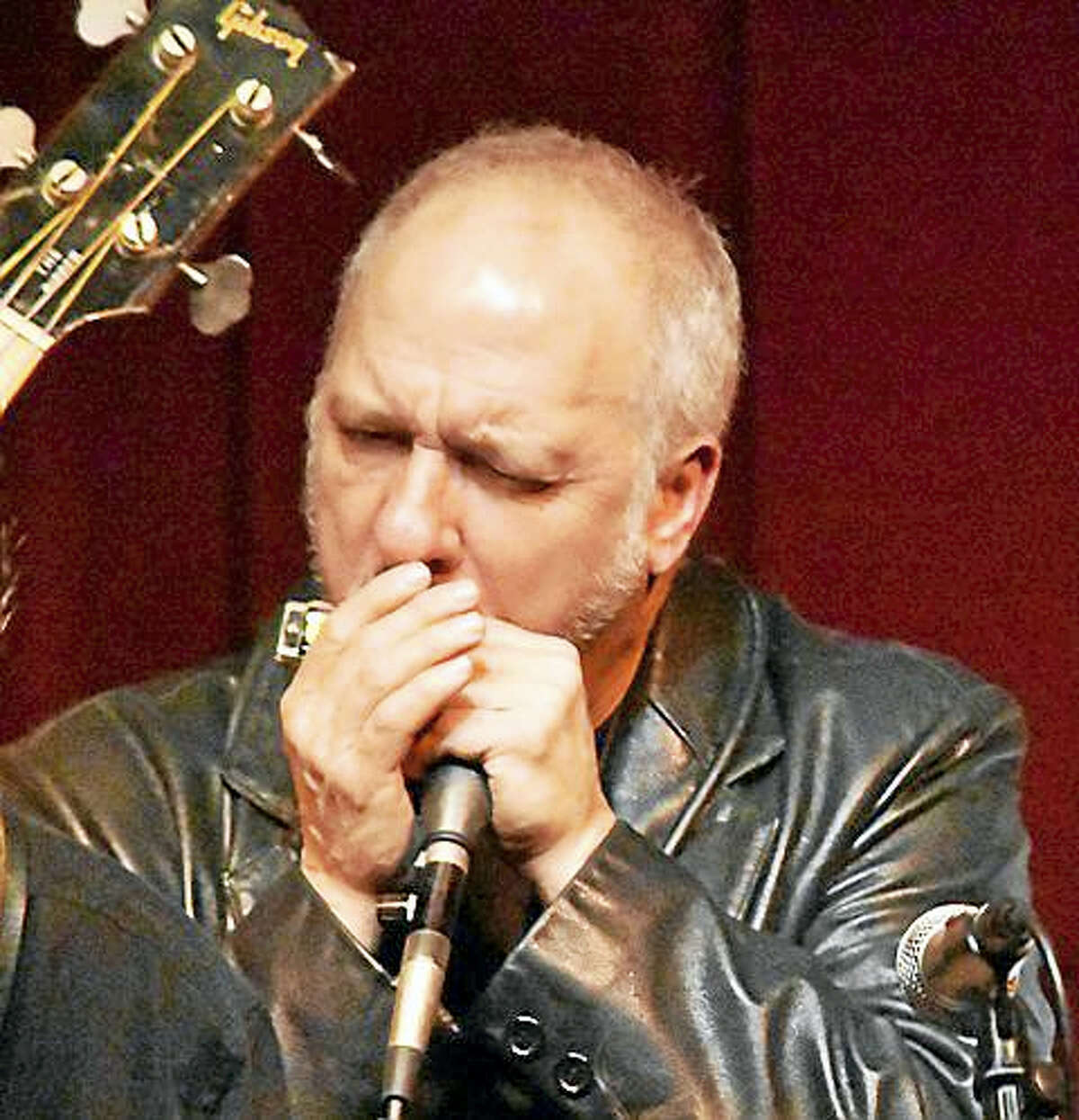 Don DeStefano leads Creamery Station, the band headlining the Locapalooza Festival in Bethany this weekend.