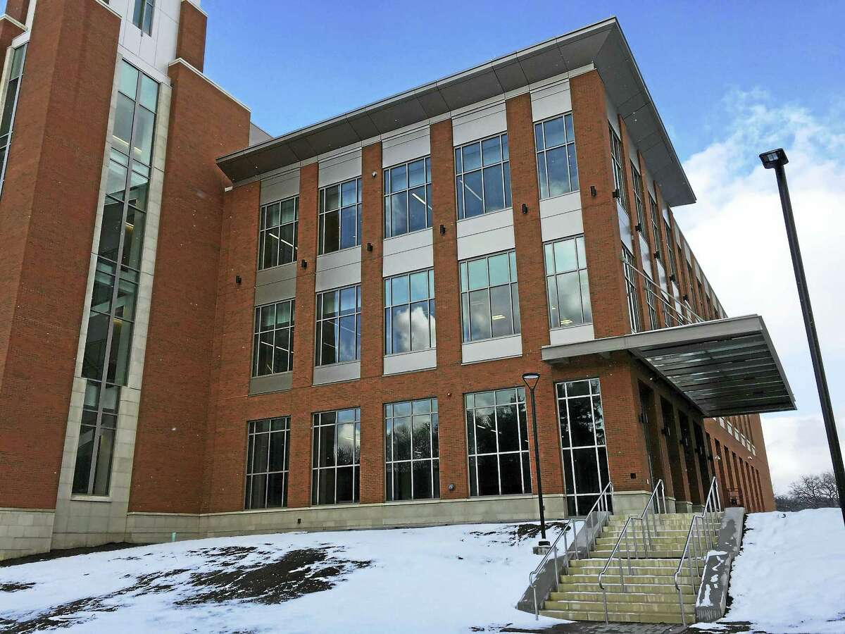 The Litchfield Judicial District Courthouse is completed on the outside, but officials say there's plenty of work to be done on the inside. The building, which will replace the courthouses in Litchfield and its Bantam Borough, won't be open before May, according to the state judicial branch.