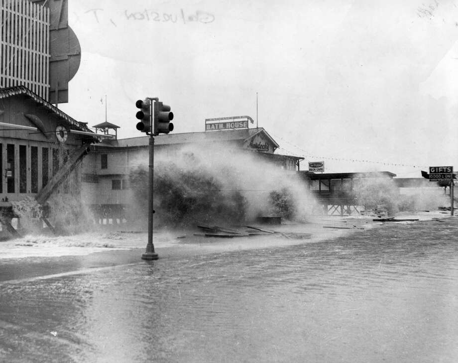 PHOTOS: Hurricane Carla slams into Texas in 1961 