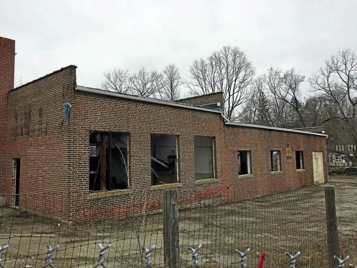 The Lambert Kay building and property has been cleaned up, and town officials will next decide whether they'll market it to sell or tear it down.